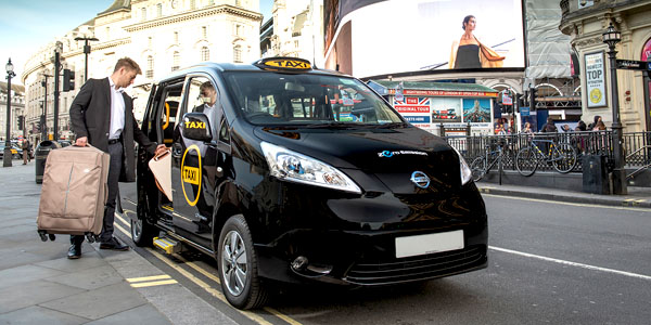 London Taxi Cabs have turned electric