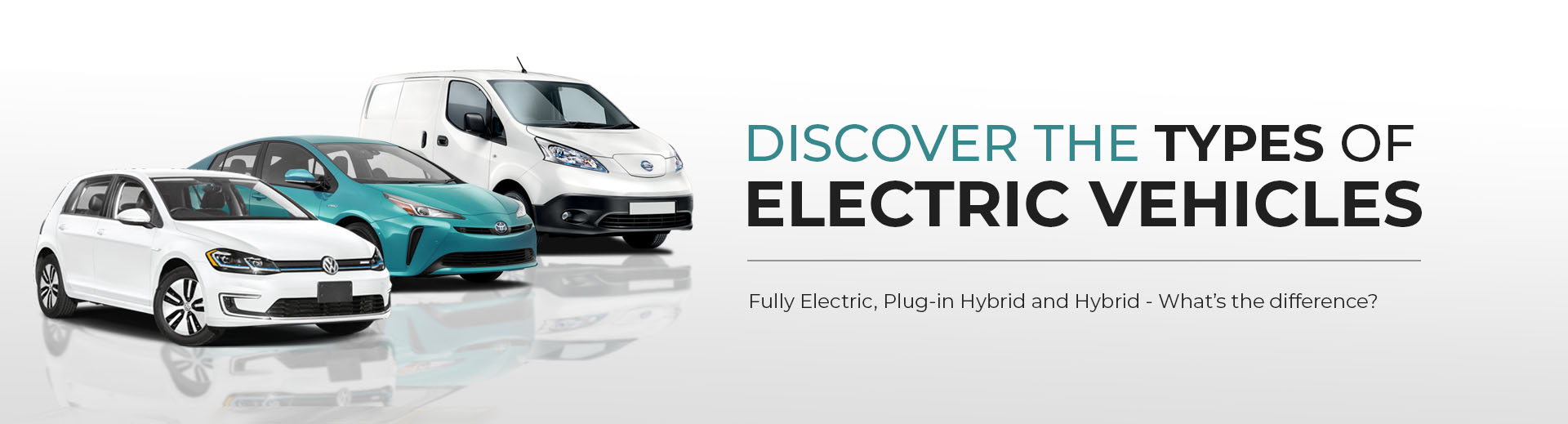 Discover the Types of Electric Vehicles